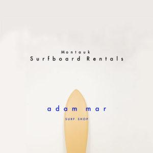 Surfboard rentals at Adam Mar Surf Shop